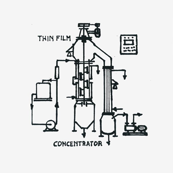 Thin film concentrator plant at Gibob srl